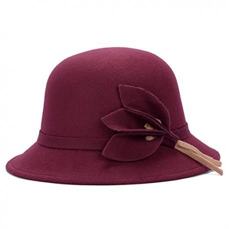 Sombrero Madame granate