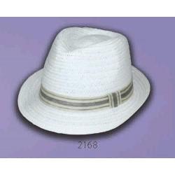 Sombrero Fedora cinta yute