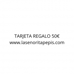 TARJETA REGALO 15 EUROS
