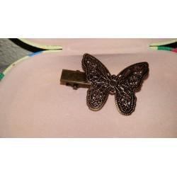 Horquilla vintage mariposa