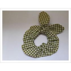 Coletero verde vichy con orejitas