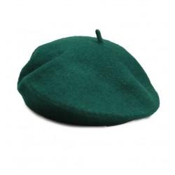 Boina francesa tono verde azulado