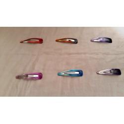 Clip mediano con color