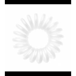 Coletero invisible color blanco