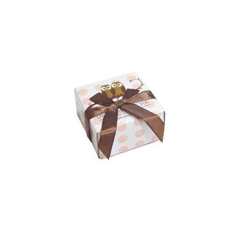 Cajita jabón-Modelo búho