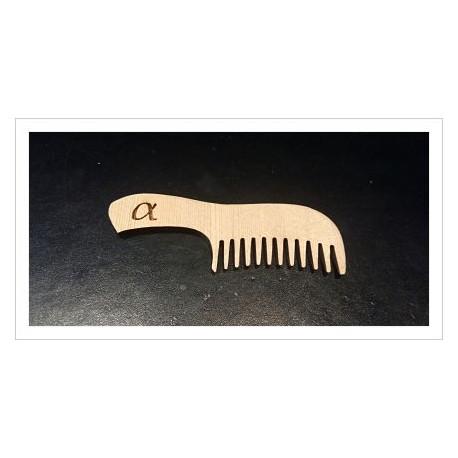 Peinecito para barba artesanal modelo alpha