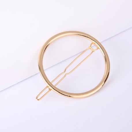 Pasador Círculo dorado