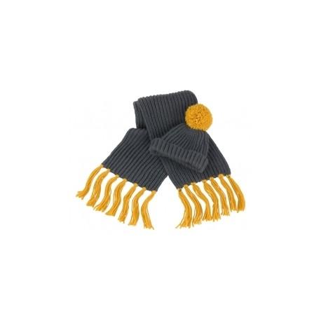 Conjunto de bufanda y gorro